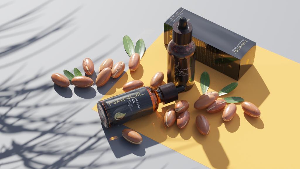 das natürliche Arganöl von Nanoil